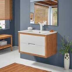 ארון אמבטיה תלוי אפוקסי ג'נבה 82