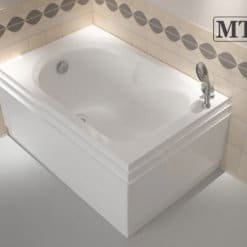 MTI-73 אמבטיה אקרילית מלבנית 70 אורך 105