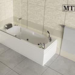 אמבטיה אקרילית מלבניתMTI-07 רוחב 70 אורך 170