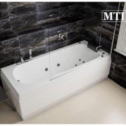 אמבטיה אקרילית מלבנית MTI-117 רוחב 70 אורך 170