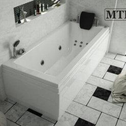 אמבטיה אקרילית מלבנית MTI-62 רוחב 70 אורך 170