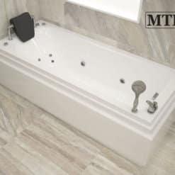 אמבטיה אקרילית מלבנית MTI-93 רוחב 70 אורך 170