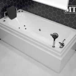 MTI-91 אמבטיה אקרילית מלבנית